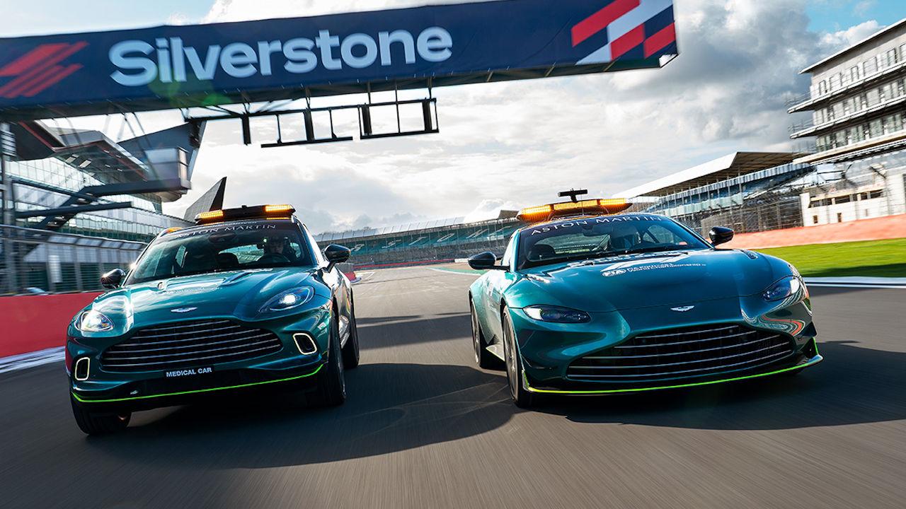 Aston Martin y Mercedes se alternarán como Safety Car